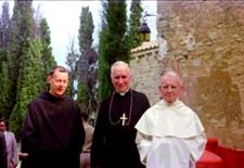 opat Gerard Calvet, abp Lefebvre i o. Gerard des Lauriers w latach '70